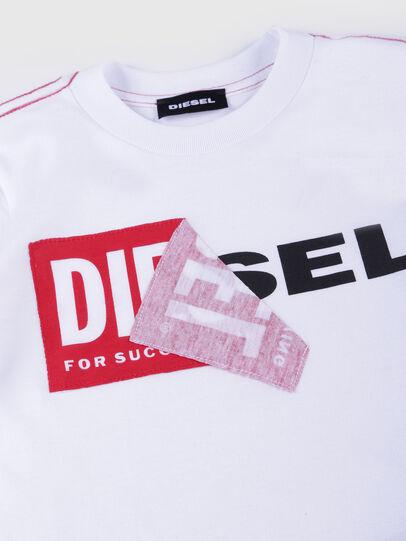 Diesel - TOQUEB MC-R, Weiß - T-Shirts und Tops - Image 3