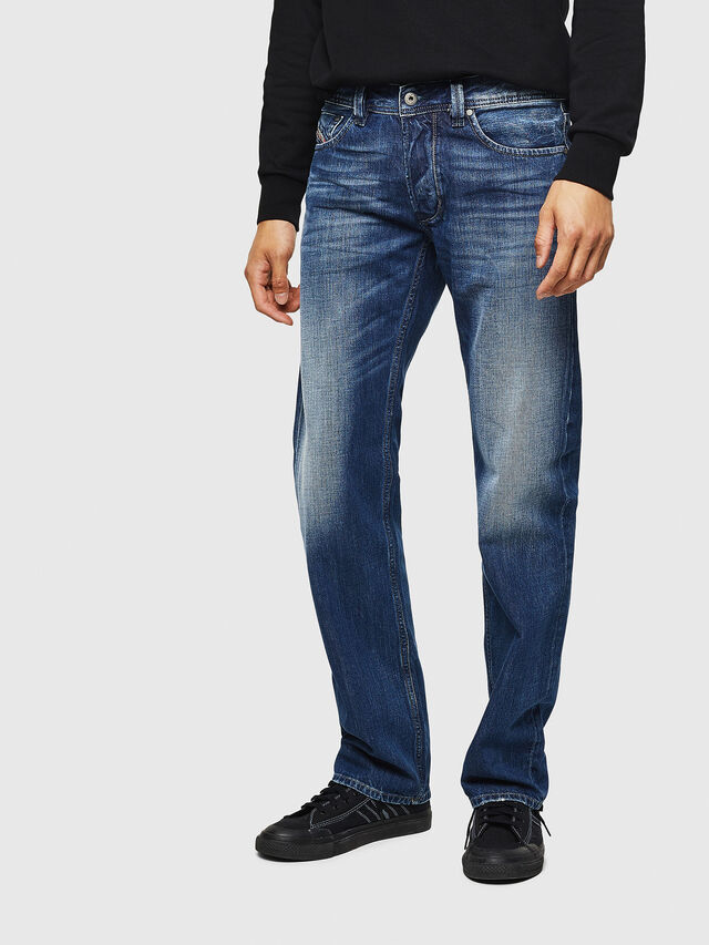 Diesel - Larkee 008XR, Mittelblau - Jeans - Image 1