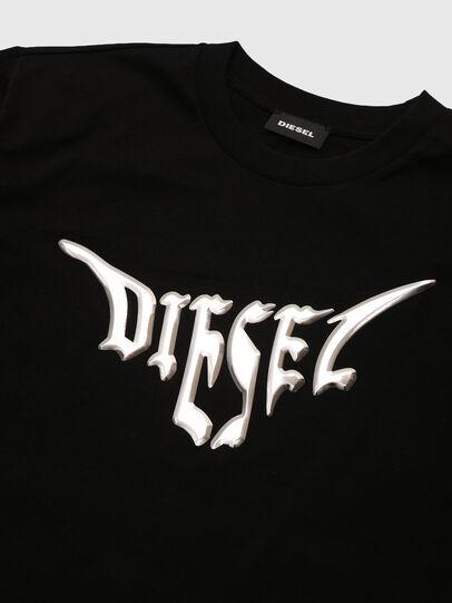 Diesel - TBOWLY, Schwarz - T-Shirts und Tops - Image 3