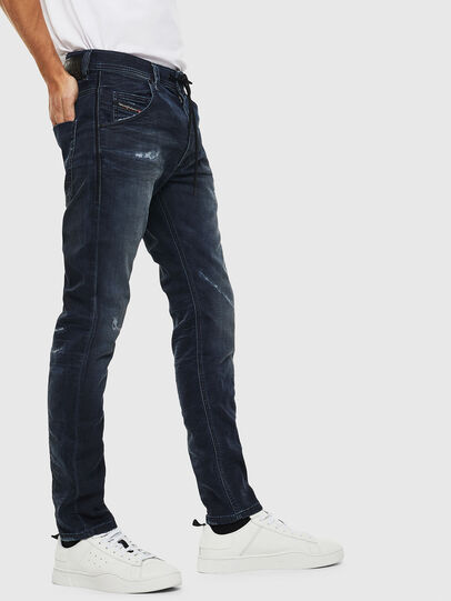 Diesel - Krooley JoggJeans 069KB, Dunkelblau - Jeans - Image 4