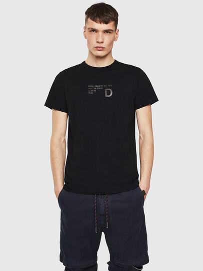 Diesel - T-DIEGO-S5, Schwarz - T-Shirts - Image 1
