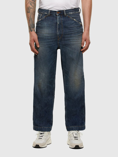 Diesel - D-Franky 009EW, Dunkelblau - Jeans - Image 1