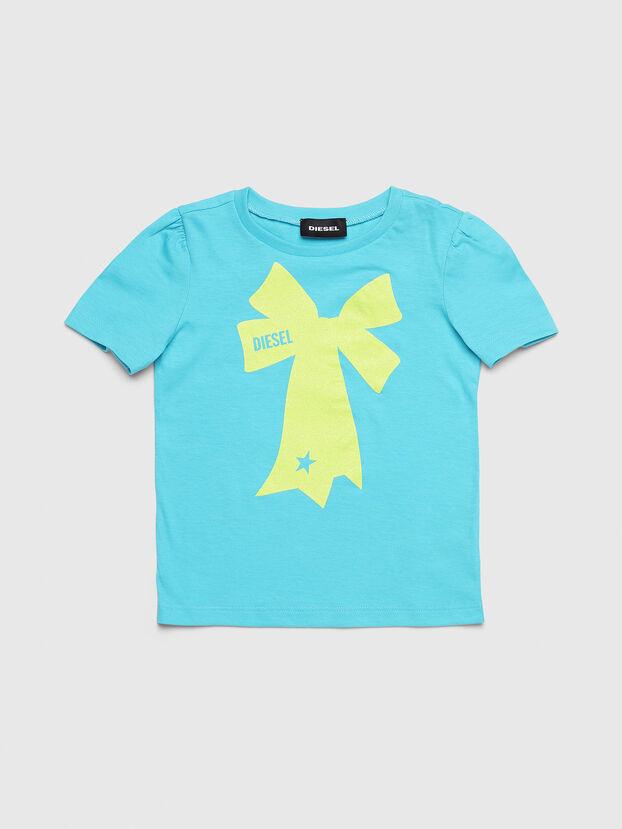 TASHAB-R, Azurblau - T-Shirts und Tops