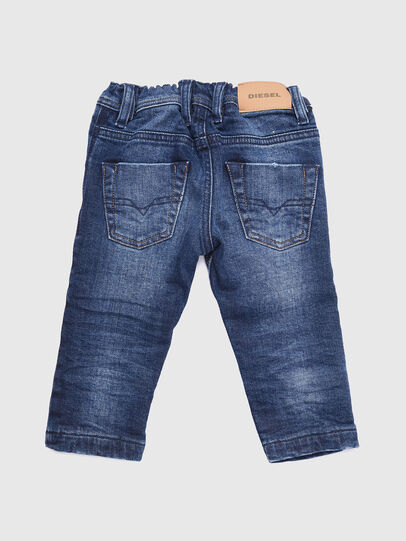 Diesel - KROOLEY-B-N F JOGGJEANS, Mittelblau - Jeans - Image 2