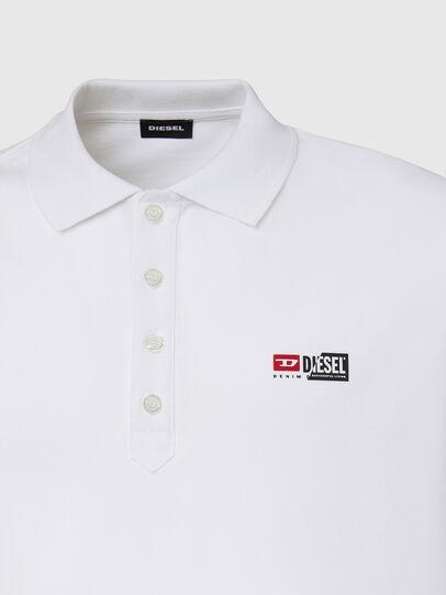 Diesel - T-WEET-SPLIT, Weiß - Polohemden - Image 3