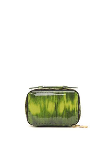 Mini-Taschenportemonnaie aus Lackleder