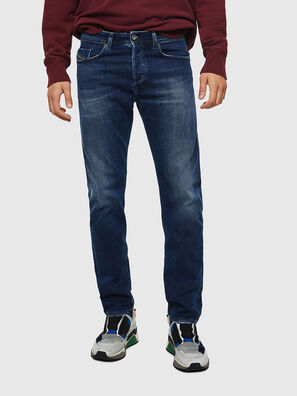 Buster 0870F, Mittelblau - Jeans
