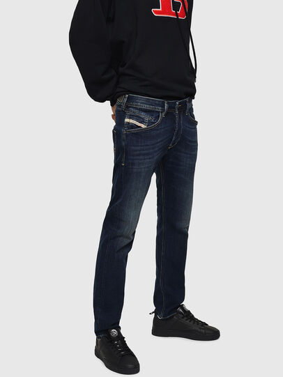 Diesel - Belther 0814W, Dunkelblau - Jeans - Image 3