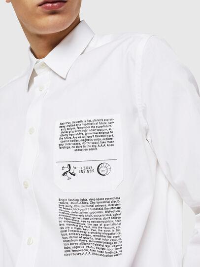 Diesel - S-VEN-PRINT, Weiß - Hemden - Image 2