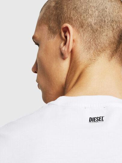 Diesel - T-DIAMANTIK-NEW, Weiß - T-Shirts - Image 3