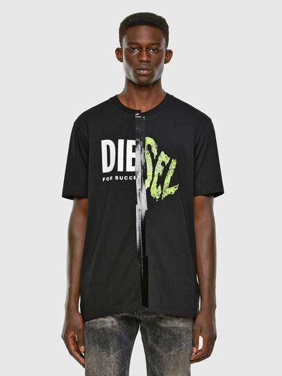 Diesel - T-JUBBLE-X2, Schwarz - T-Shirts - Image 4