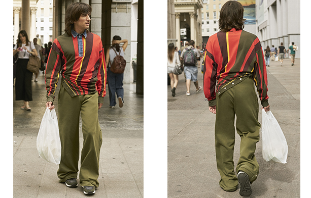 Red Tag - Glenn Martens   Look 4