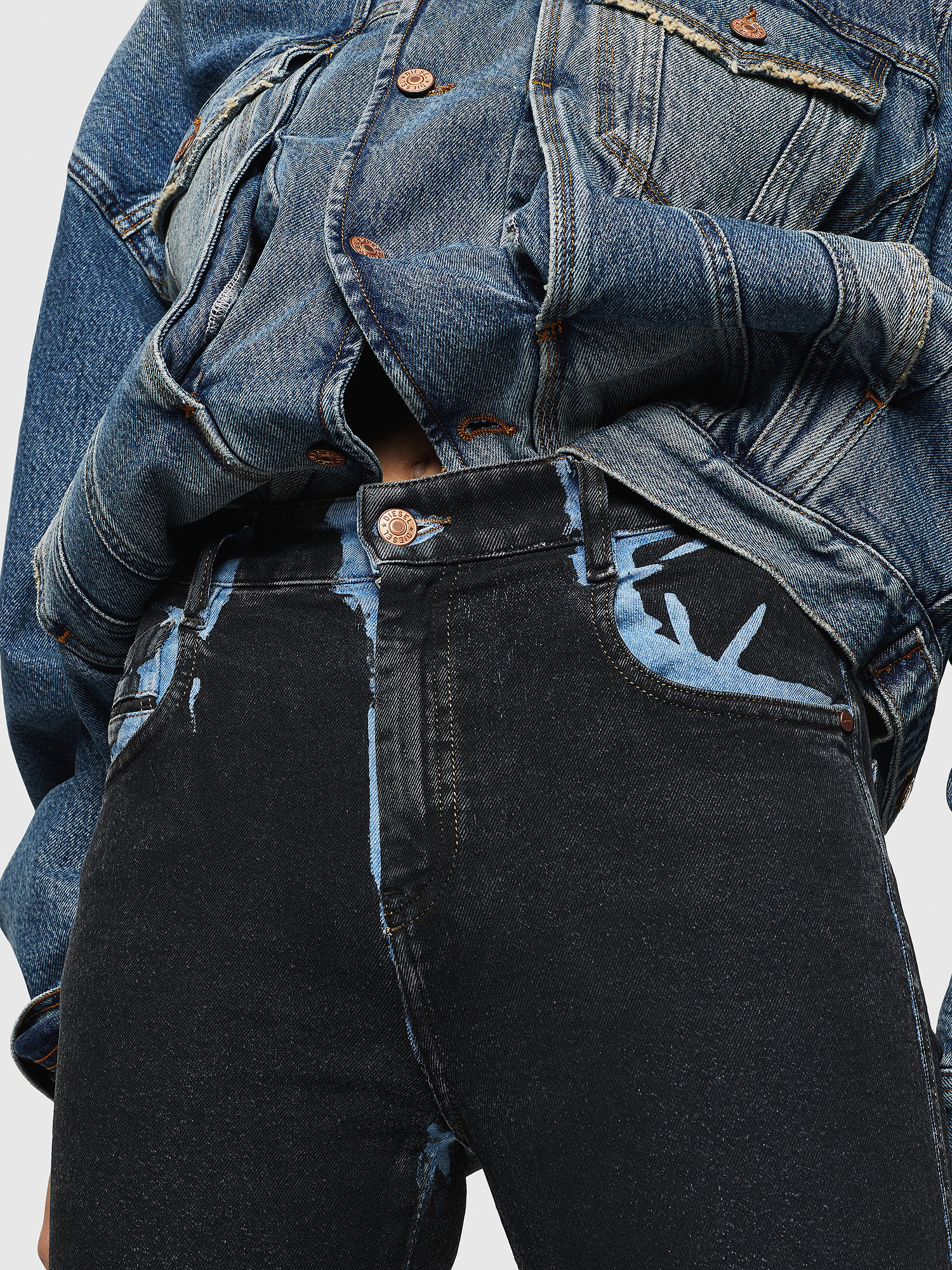 Diesel - Slandy High 0094B,  - Jeans - Image 3