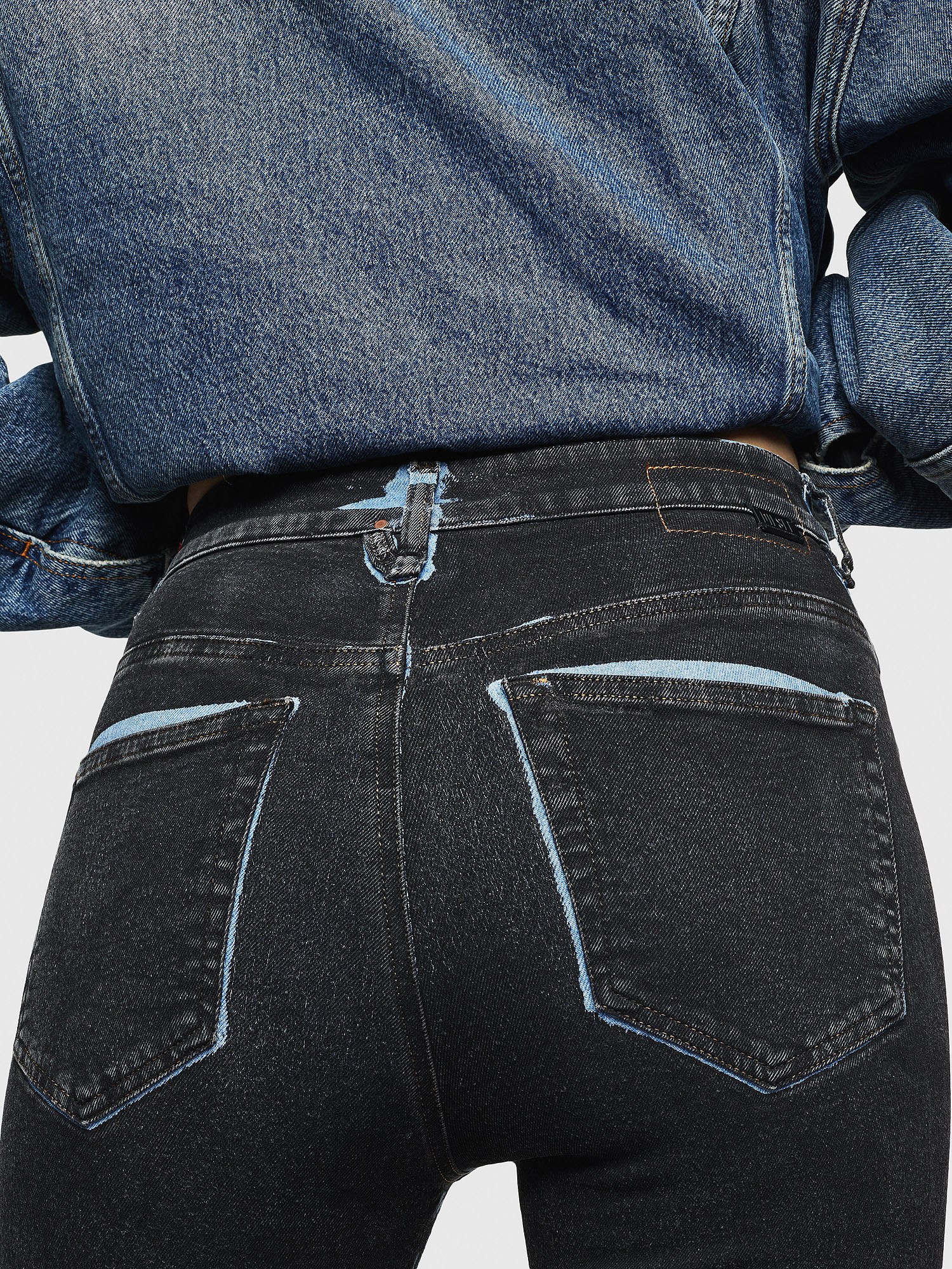 Diesel - Slandy High 0094B,  - Jeans - Image 5